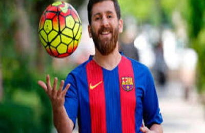 Football Player Lionel Messi
