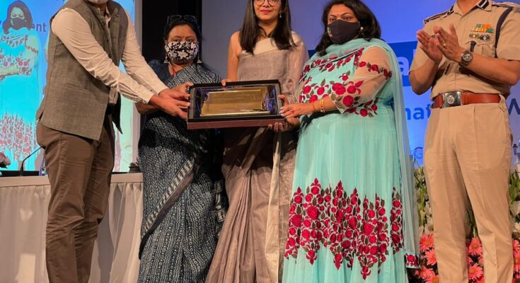 Delhi Women's Commission honors Aman Preet IRS, daughter of former Engineer-in-Chief PSPCL