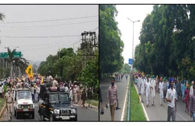 FARMERS PROTEST IN CHANDIGARH