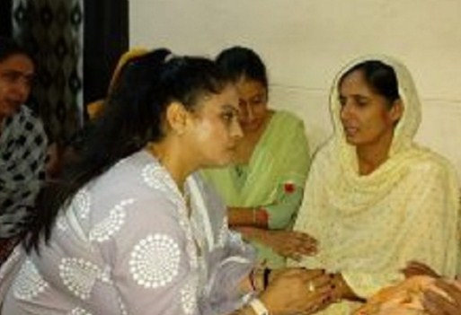 Manisha Gulati, chairperson of the women's commission, also expressed deep sorrow over the death of Lovepreet's family