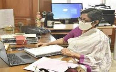 Covid-19 vaccination campaign to be launched in colleges of the state Chief Secretary Mrs. Vinnie Mahajan