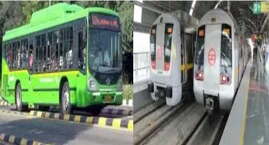 Delhi Unlock News Bus and Metro will run with 100% capacity in Delhi from Monday, DTC has given permission