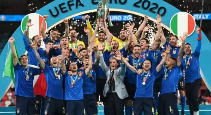 EURO Cup Final Italy wins Euro Cup title beat England 3-2 in penalty shootout