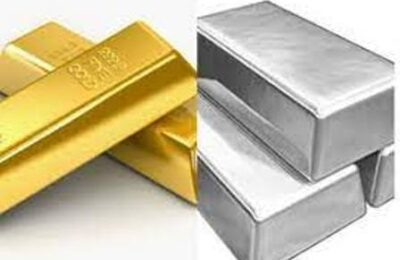Gold Silver Rate Today Slight rise in gold price, fall in silver