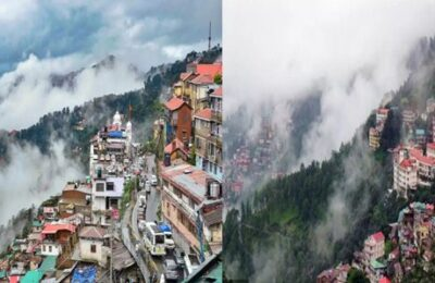 Himachal Pradesh Weather Update Due to bad weather in Himachal, there is a possibility of landslides and floods in the low-lying areas