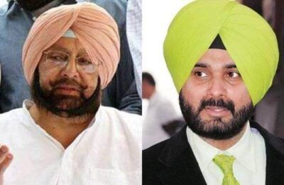 Invitation sent to Capt Amarinder Singh for the ceremony of 'Newly appointed President Navjot Singh Sidhu', Capt Amarinder Singh accepted the invitation