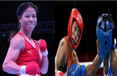Mary Kom Wins Mary Kom's scintillating debut in boxing at the Tokyo Olympics