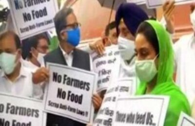 Members of Congress, Akali Dal and other parties move no-confidence motion in Lok Sabha