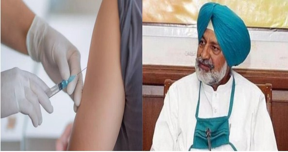 Only 5.35% of Punjab's population gets both doses of vaccine Health Minister Balbir Singh Sidhu