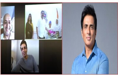 Sonu Sood becomes Messiah again, Ranjodh Singh will now go to school with his sisters