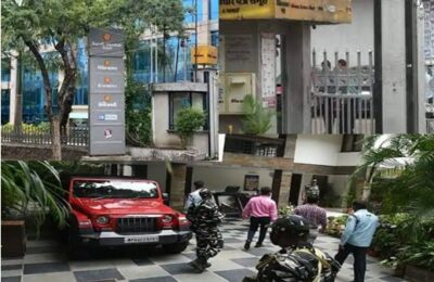 The Income Tax Department of the Dainik Bhaskar Group raided several offices across the country