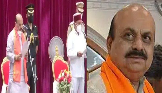 Today, Basavaraj Bommai was sworn in as the Chief Minister, becoming the 23rd Chief Minister of the state