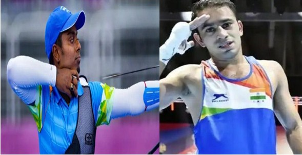 Tokyo Olympics Shock to India, Amit Panghal's challenge ends, Atanu Das loses in archery