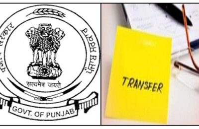 Transfer of 11 IAS and 43 PCS officers by Punjab Government