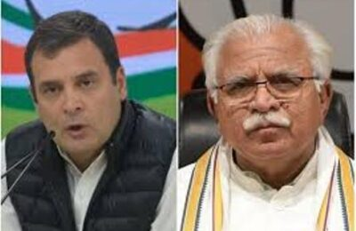 special offer was given to Rahul Gandhi by CM Manohar Lal Khattar of Haryana