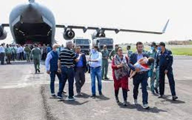 Two of the 146 people who returned to India from Afghanistan reported positive Corona Virus
