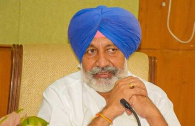 People need to come forward to donate eyes: Health Minister Balbir Singh Sidhu