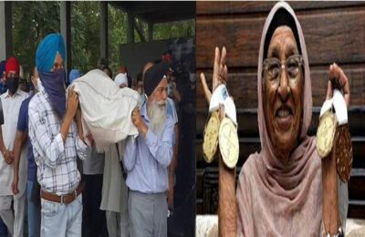 105 year old athlete Mann Kaur's last rites, many big names attended to pay their last respects
