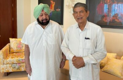 2022 elections to be fought under Capt Amarinder Singh's leadership Harish Rawat