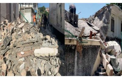 At least 1297 people have been killed so far in a powerful earthquake in Haiti