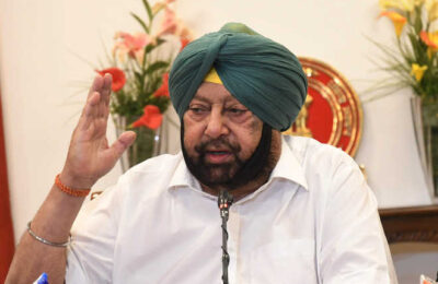 Capt Amarinder writes letter to External Affairs Ministry to bring back Shaheed Udham Singh's pistol and diary