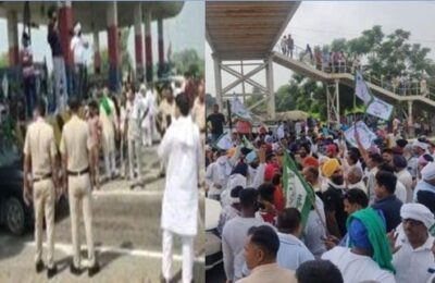Karnal Farmers Protest Farmers block highways after lathicharge on farmers