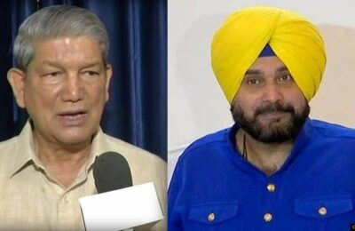 Navjot Singh Sidhu should immediately dismiss his advisers, otherwise the party will take action - Harish Rawat
