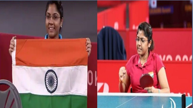 President and PM congratulate Bhavna Patel for winning Silver Medal