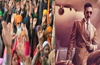 Protesting against Akshay Kumar's 'Bell Bottom' in Punjab, farmers boycotted the film
