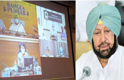 Punjab Chief Minister Capt Amarinder Singh gives permission to open more areas for industrial activities
