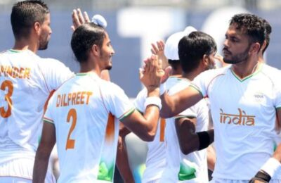 Tokyo Olympics Indian Hockey Team Shows Dum, Men's Hockey Team Reaches Semifinals After 49 Years