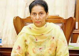 After the resignation of Navjot Singh Sidhu, there was a demand to make Preneet Kaur the PPCC president
