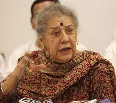 Ambika Soni refuses to become Punjab Chief Minister