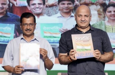 Delhi Chief Minister Arvind Kejriwal launches 'Deshbhakti Curriculum', 'Every child will be a true patriot'