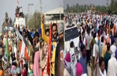 Farmers Protest News Notice issued by NHRC, report seeking traffic affected