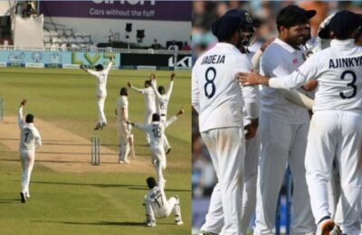 IND VS ENG After 50 years, Team India beat England by 157 runs to create history at The Oval