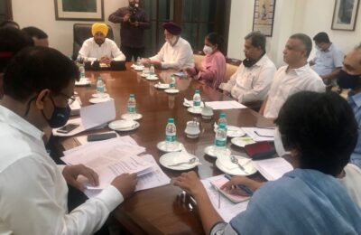 Punjab Chief Minister Mr. Charanjit Singh Channi directed the employees of Punjab State level government offices to be present in their offices at 9 am