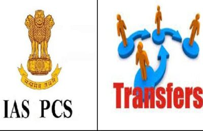 Punjab Government transferred 5 IAS and 5 PCS officers