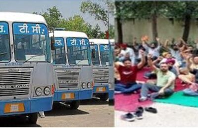 Punjab Roadways Strike A meeting with the striking contract employees of Punjab Roadways and PRTC will be held on September 14 at Civil Secretariat Chandigarh at Punjab Chief Minister's Office