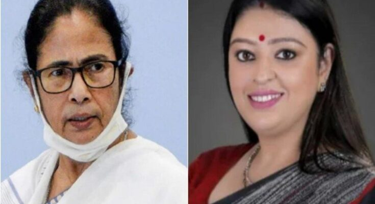 West Bengal Assembly By-Election BJP declares candidate from Bhawanipur seat Priyanka Tibrewal and Mamata Banerjee clash