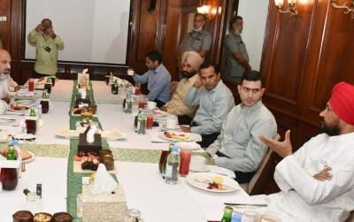 CM Charanjit Singh Channi is bringing more than 3000 projects for Punjab, meeting with industrialists