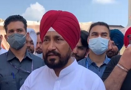 Chief Minister Charanjit Singh Channy reached the house of former minister Balbir Sidhu on Monday night