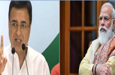 Lakhimpur Scandal Randeep Surjewala's question to PM Modi, 'Modi ji, why have the killers not been arrested yet'