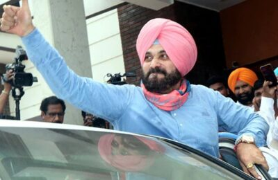 Navjot Singh Sidhu's big announcement I will go on hunger strike till Lakhimpur violence accused is arrested