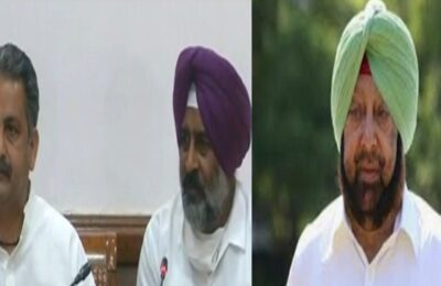 On BSF issue, Cabinet Minister Pargat Singh today slammed the Center, reprimanded Capt Amarinder Singh and accused him of conspiracy.