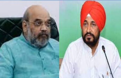 Punjab Chief Minister Charanjit Singh Channi will meet Union Home Minister Amit Shah today regarding Lakhimpur incident.